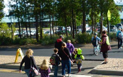 Walking School Buses Help Keep Kids Healthy