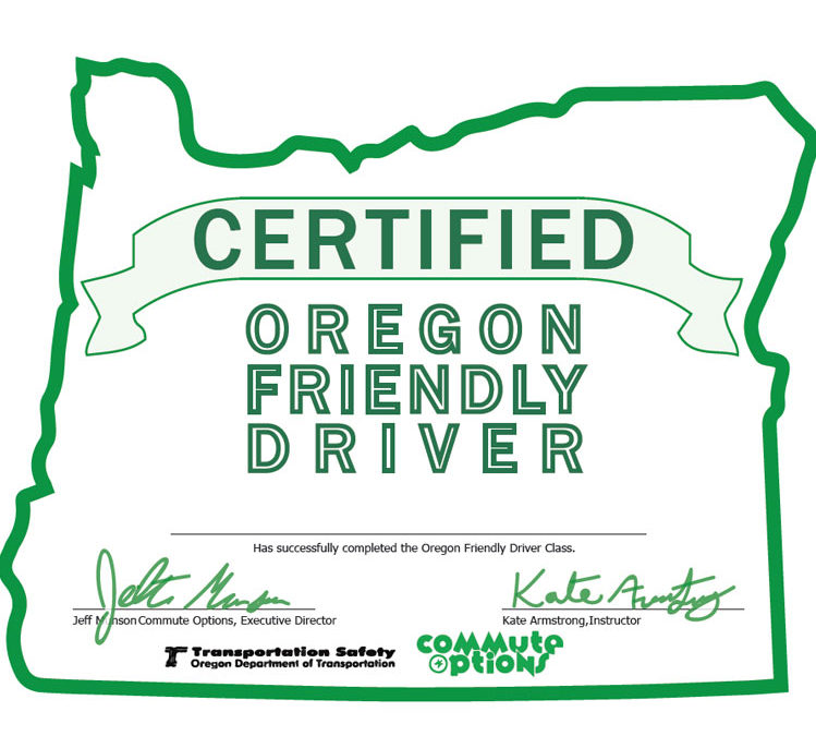 Oregon Friendly Driver and Downtown Parking party