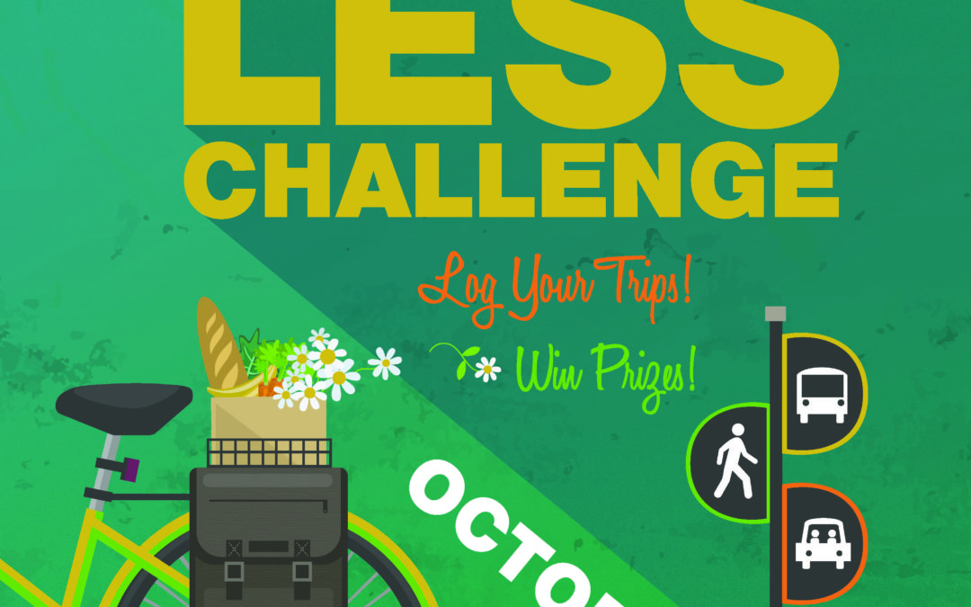 The Oregon Drive Less Challenge Coming Soon: October 1 – 15.
