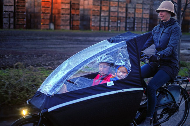 Family Life On an Electric Cargo Bike