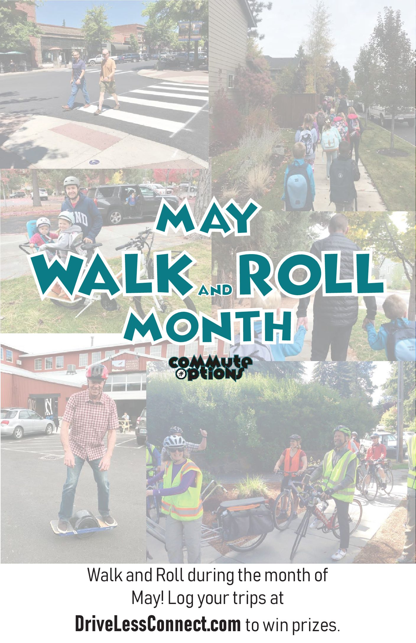 May is Walk and Roll Challenge Month