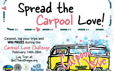 Spread the Carpool Love starting Valentines Day 2020