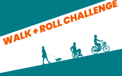 Get the whole family moving with the Walk and Roll Challenge
